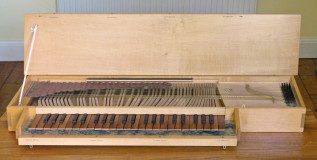 small fretted clavichord